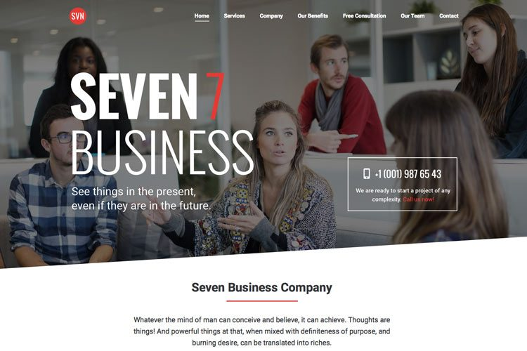 The7 - Business Onepage
