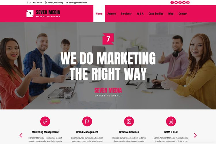 The7 - Marketing Agency