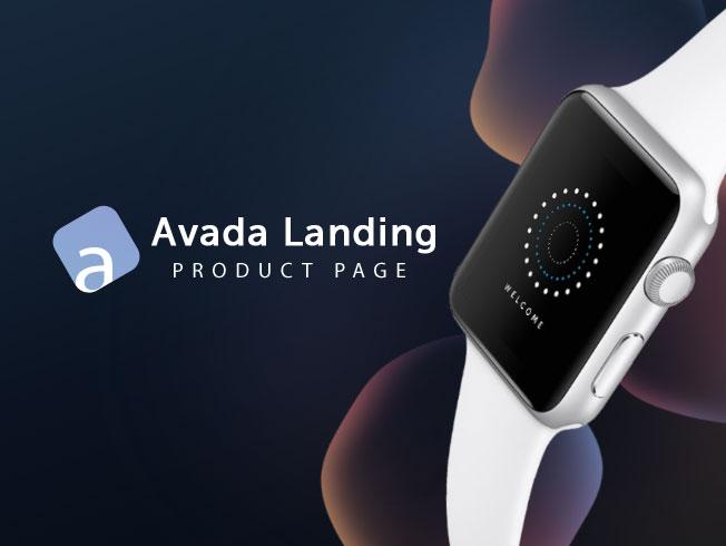 Avada - Landing Product
